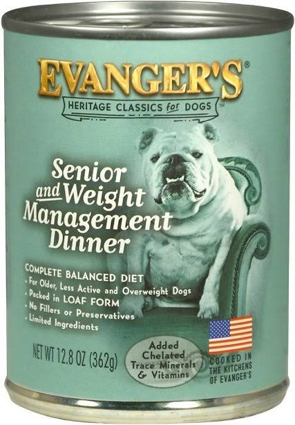 Evanger's Classic Senior Canned Dog Food - 13oz
