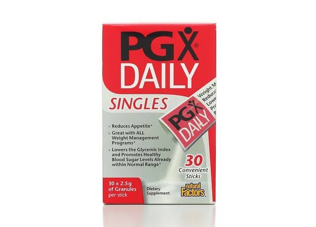 Natural Factors PGX Daily Singles - 30 sticks