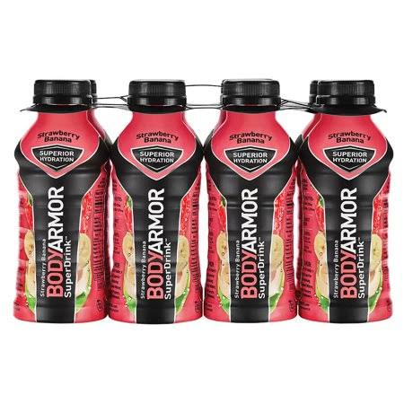 BodyArmor SuperDrink, Strawberry Banana - 8 superdrink