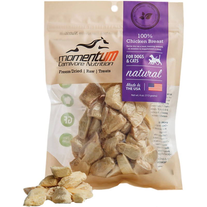 Momentum Freeze Dried Chicken Breast 4oz