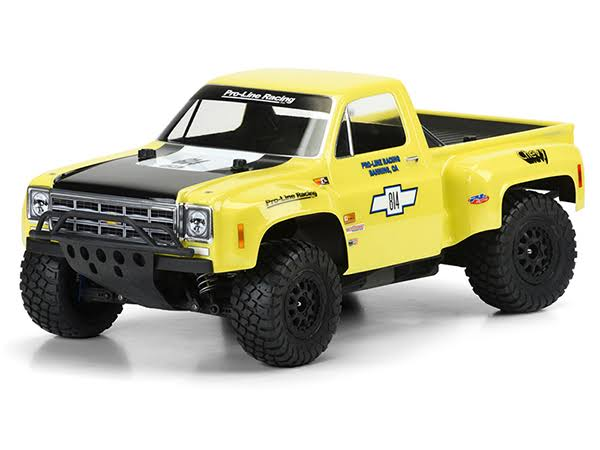 Pro-Line Racing 1978 Chevy C-10 Race Truck Clear Body: Slash 2WD