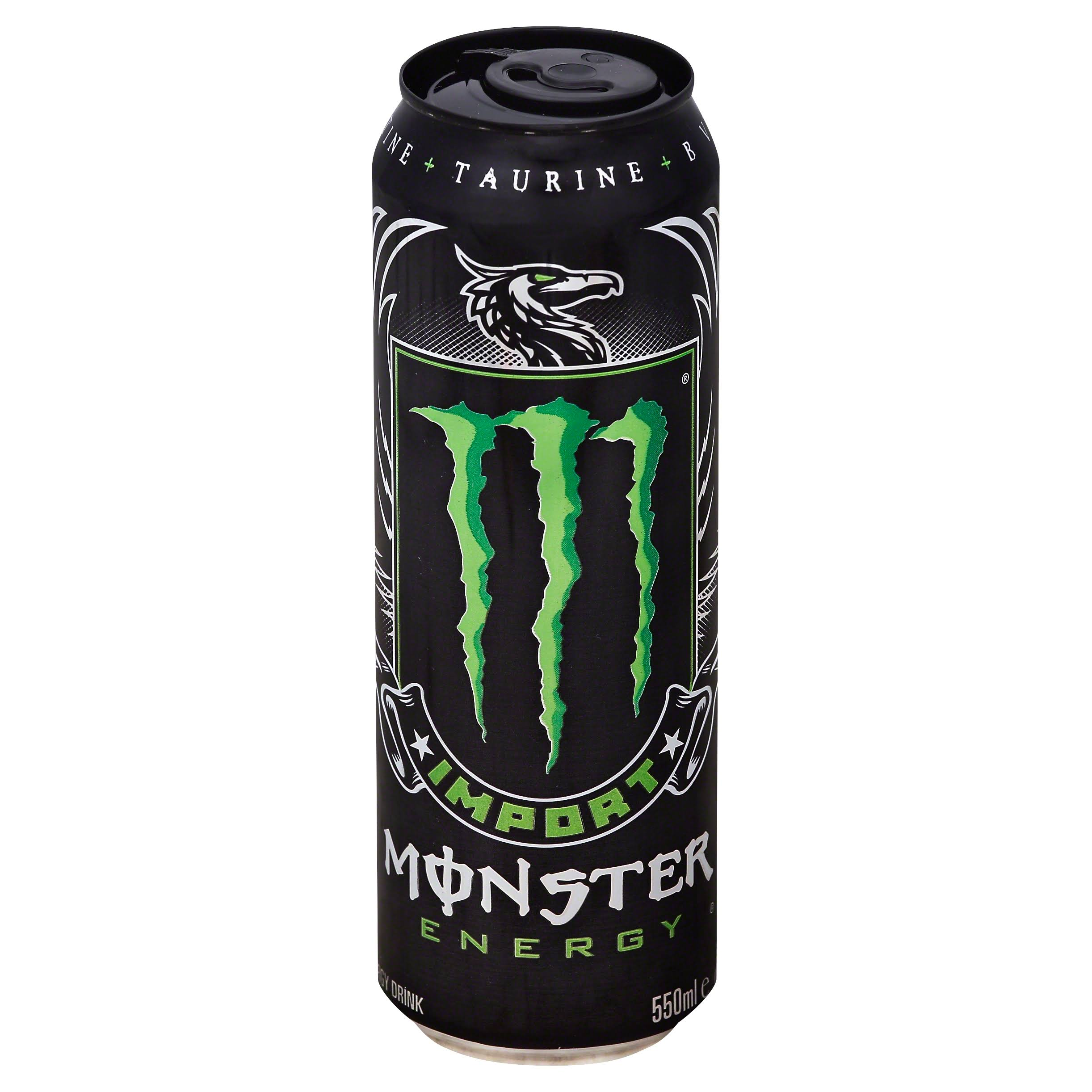 Monster Import Energy Drink - 18.6fl oz