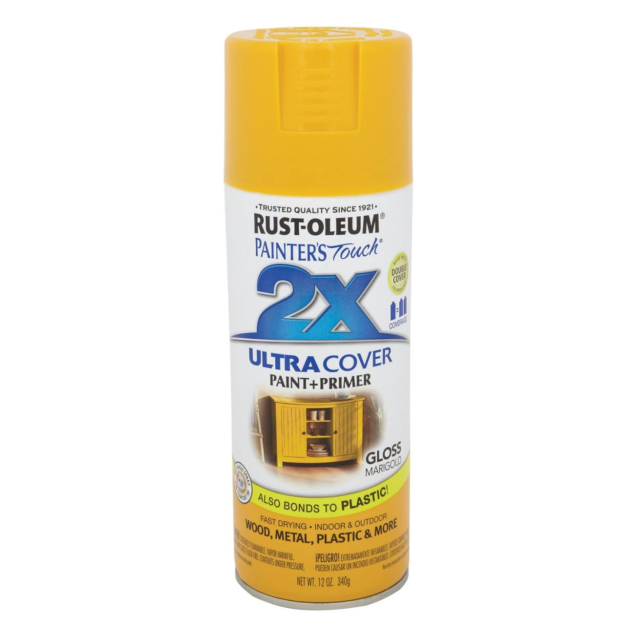 Rust-Oleum Painter's Touch Multi Purpose Spray Paint - Marigold, 12oz
