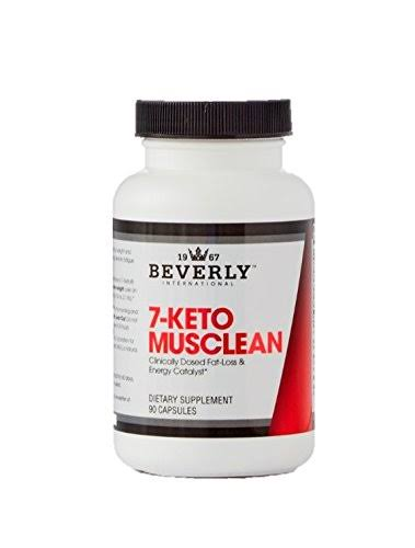 Beverly International 7-Keto MuscLean Supplement - 90 Capsules