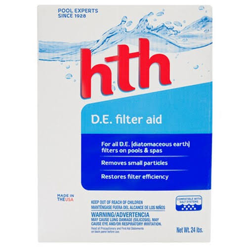 HTH Diatomaceous Earth Pool Filter Aid - 24lb