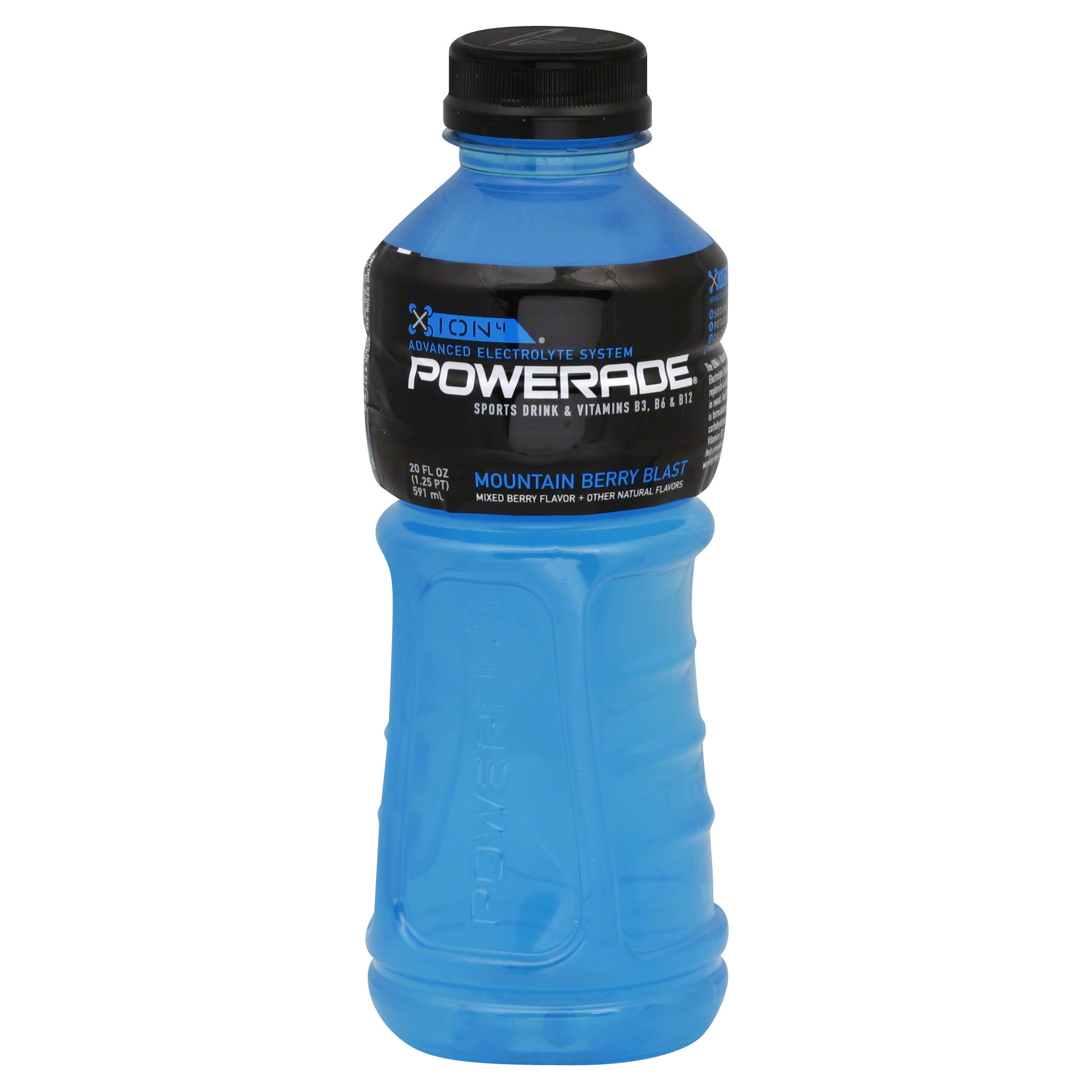 Powerade Ion4 Sports Drink - Mountain Berry Blast
