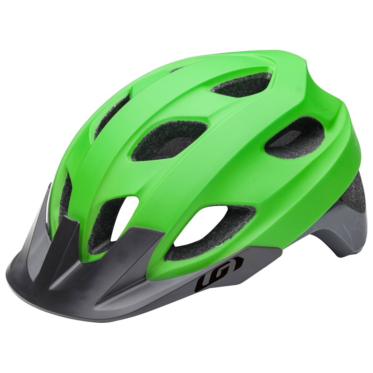 Louis Garneau Raid RTR Cycling Helmet - Matte Green, Large
