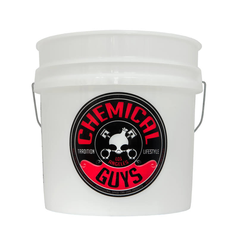 Chemical Guys Heavy Duty Detailing Bucket - with Logo, 4.5gal