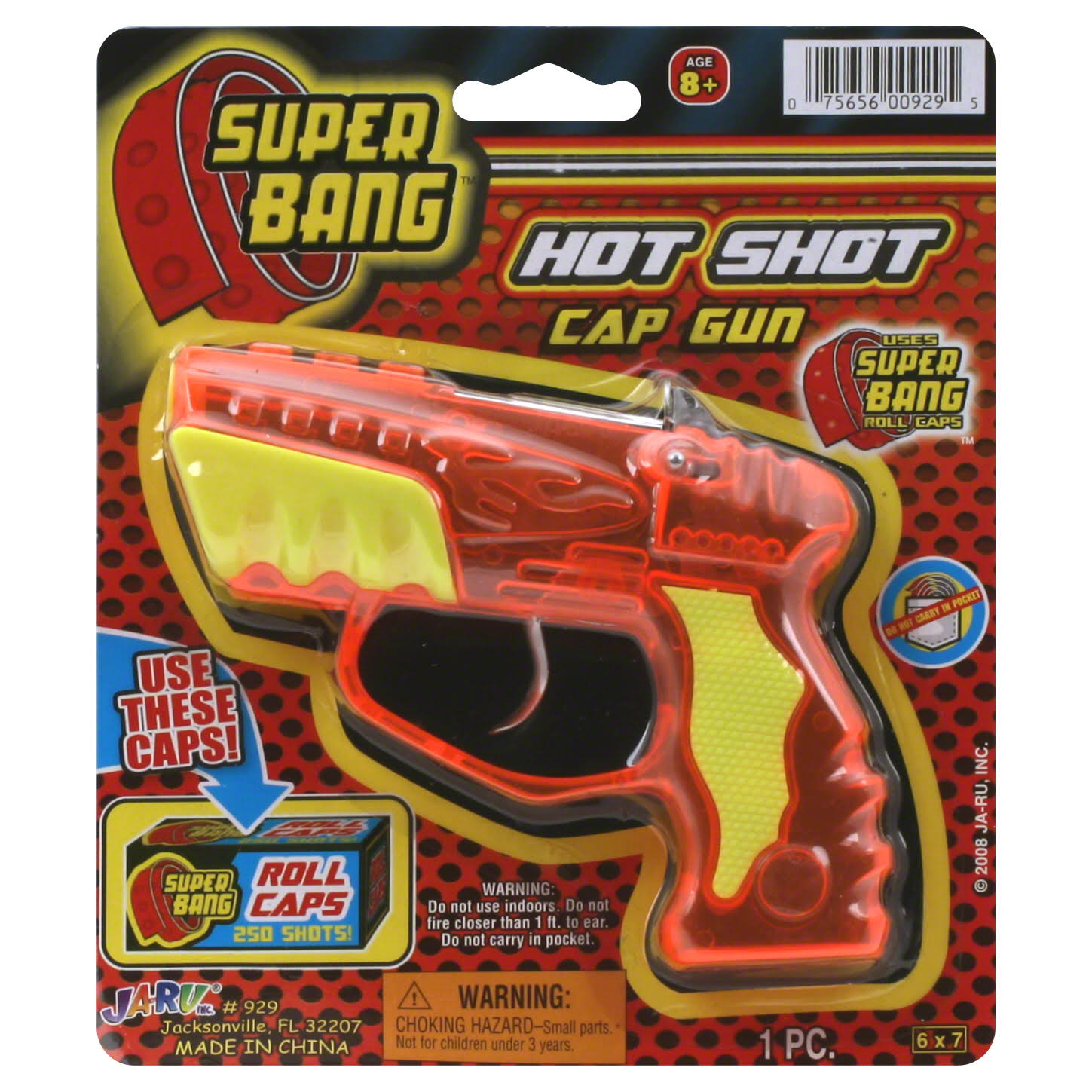 Super Bang Cap Gun - Hot Shot