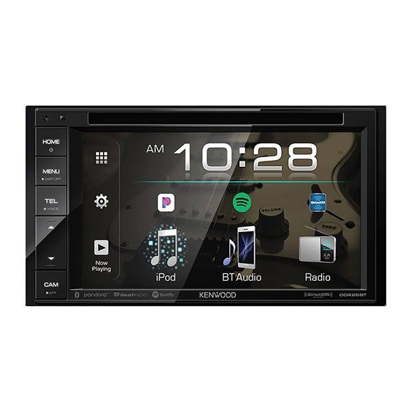 Kenwood DDX26BT 6.2 in. Double DIN DVD Receiver with Bluetooth