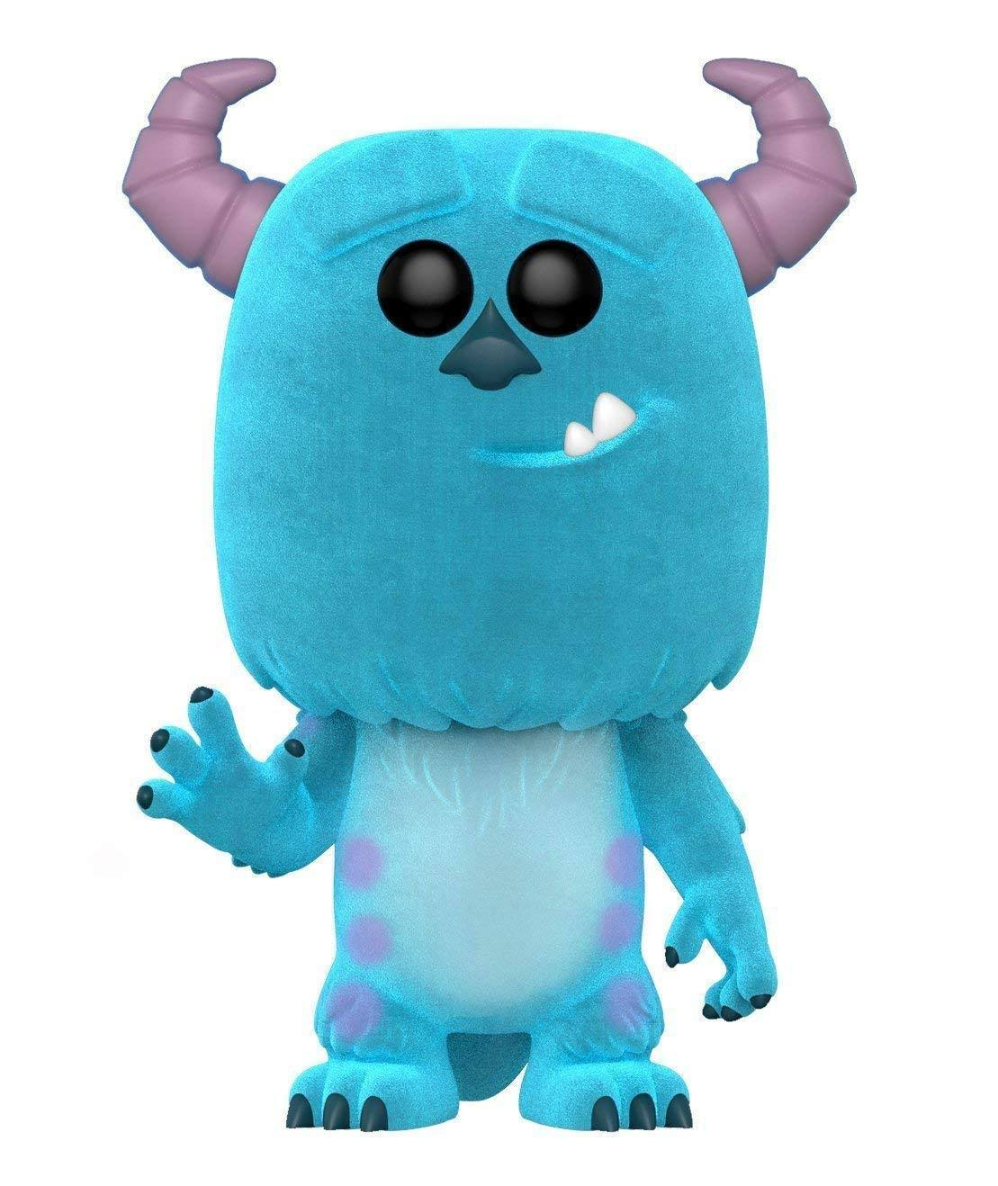 Funko Pop! Monsters Inc Sulley Flocked Pop Vinyl Figure