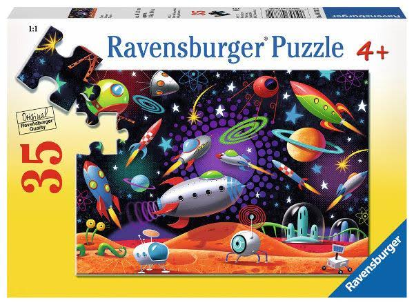 Ravensburger Space Puzzle - 35 Pieces