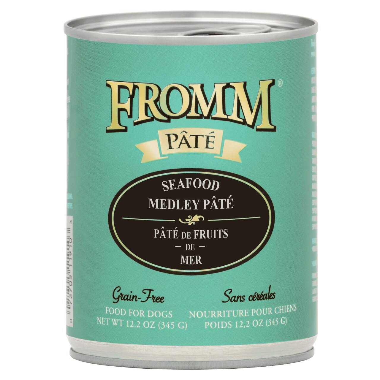 Fromm Seafood Medley Pate Canned Dog Food 12.2 oz