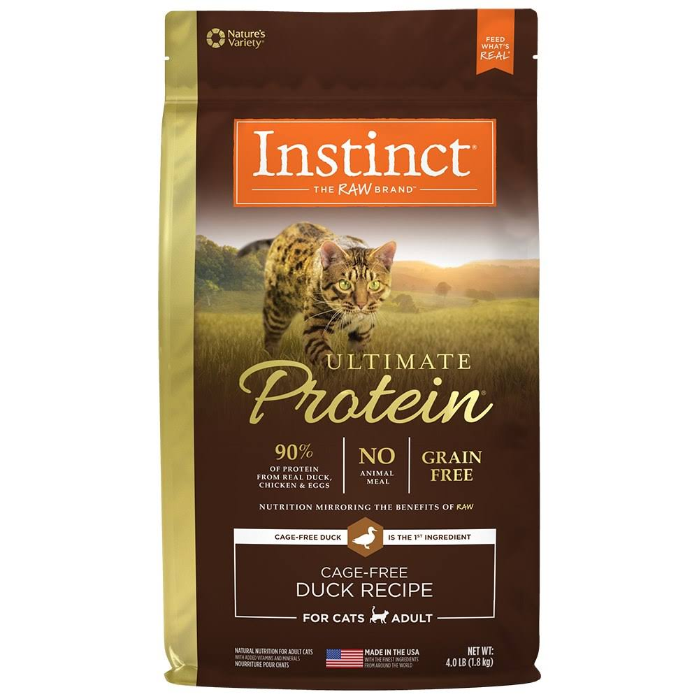 Nature's Variety Instinct Cat Ultimate Protein Food - Duck Recipe, 1.81kg