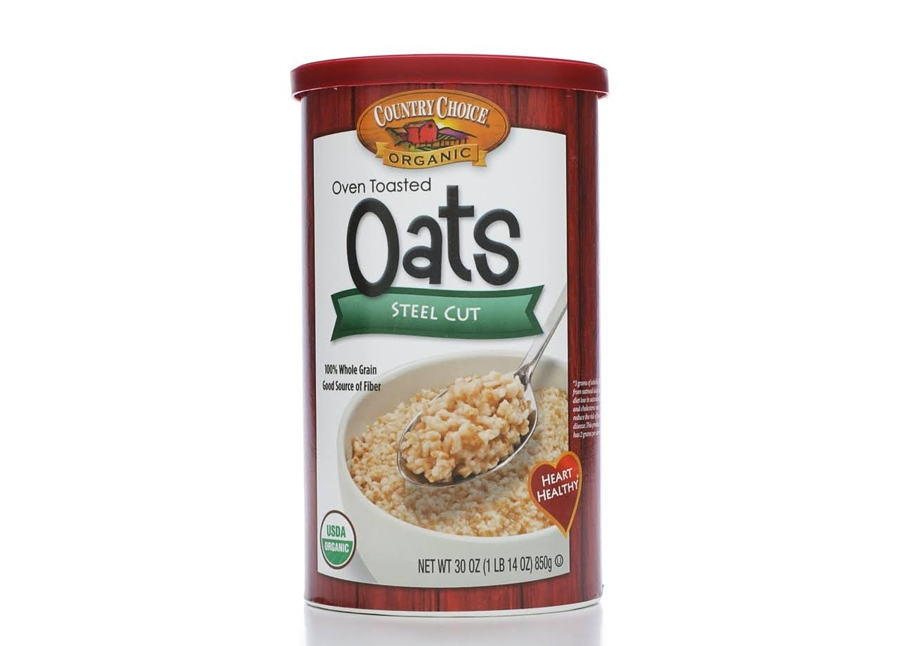 Country Choice Organic Steel Cut Irish Style Oats