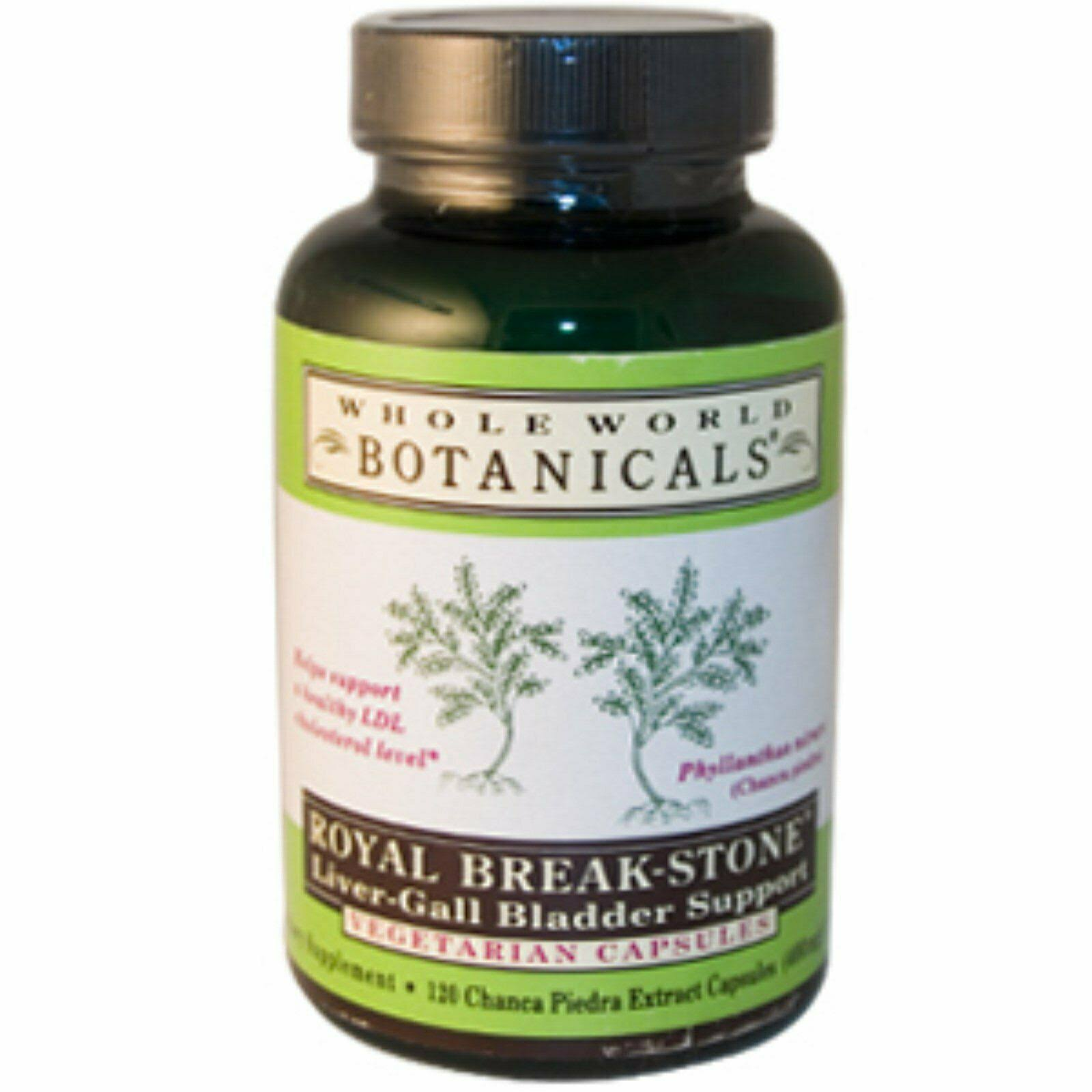 Whole World Botanicals Royal Break Stone Liver Gall Bladder Support - 400mg, 120ct
