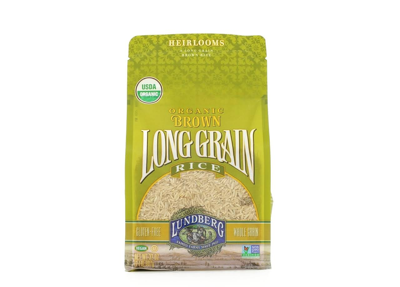 Lundberg Organic Rice - Brown Long Grain Rice