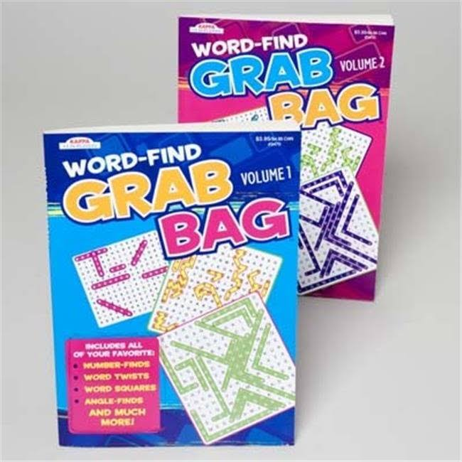 DDI 1266913 Word Find Grab Bag