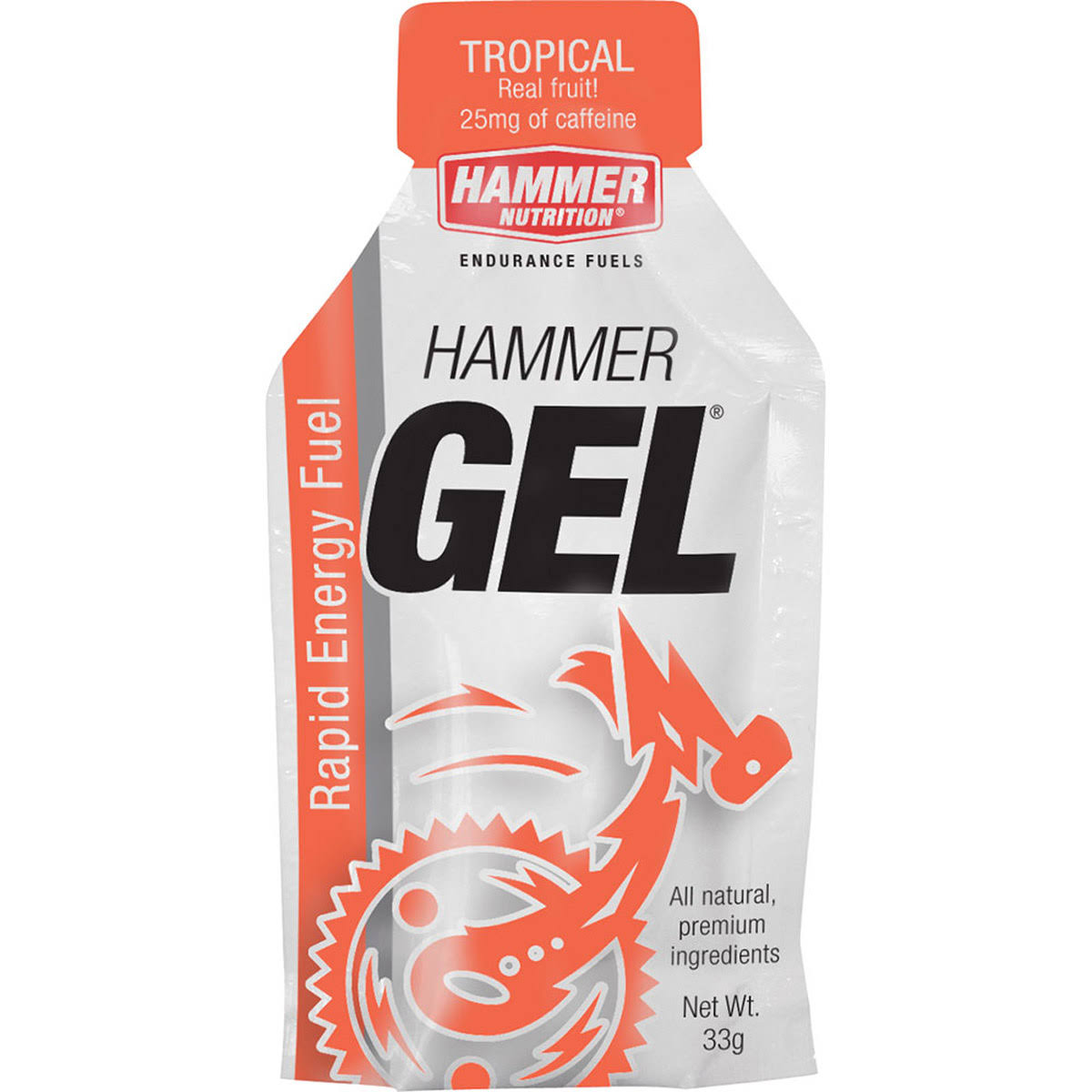 Hammer Nutrition Rapid Energy Fuel Gel - Tropical