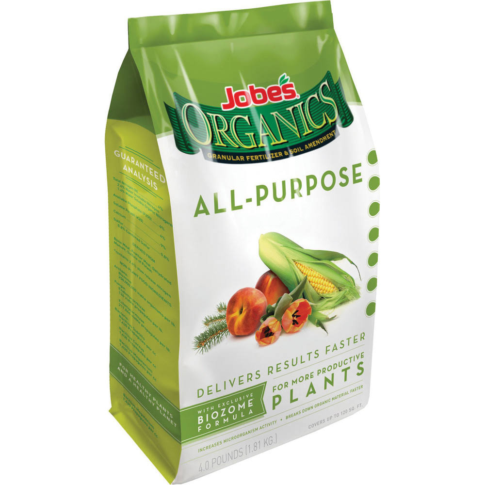 Jobe's Organic All Purpose Granular Fertilizer - 4lb