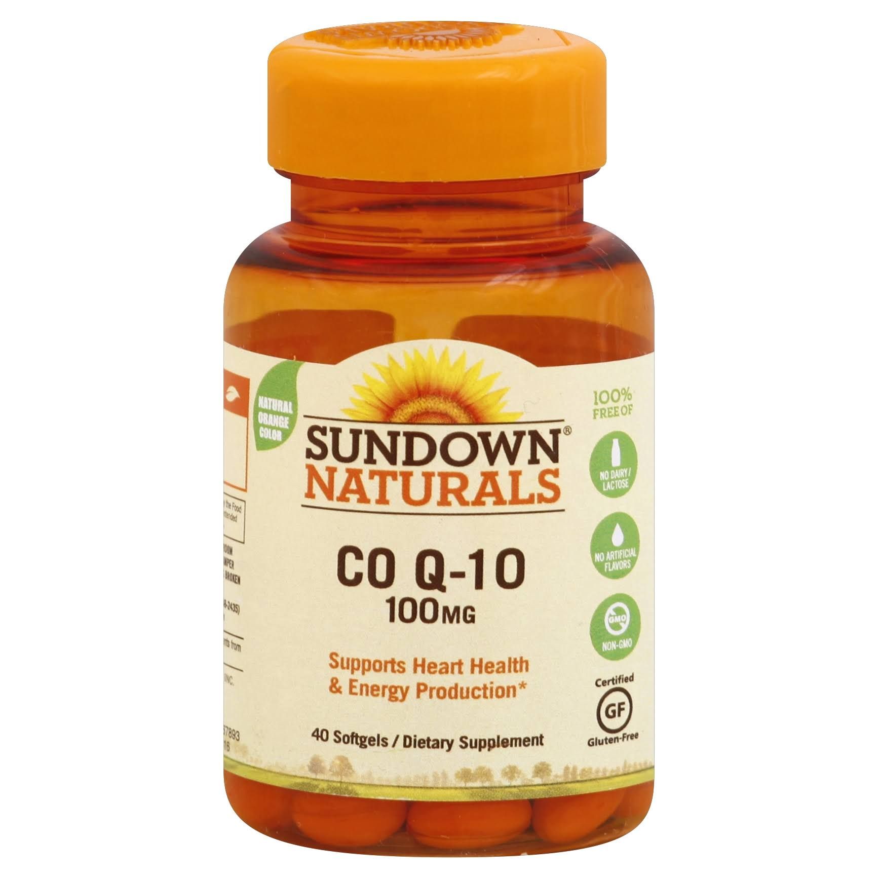 Sundown Naturals Co Q-10 100mg Softgels - x40