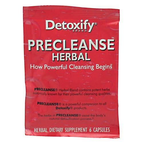 Detoxify Precleanse Herbal Detox Supplement - 6ct