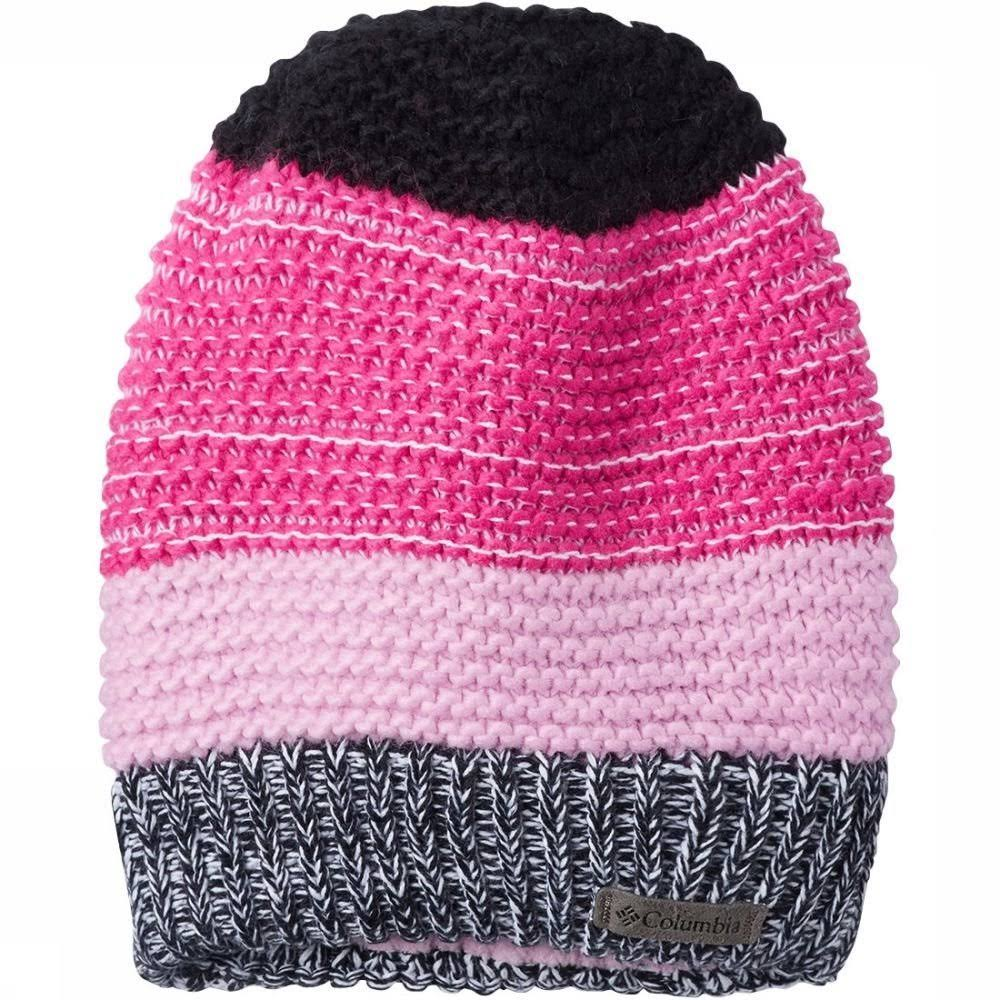 Columbia Gyroslope II Beanie - Kids' Pink Ice/Black, One Size