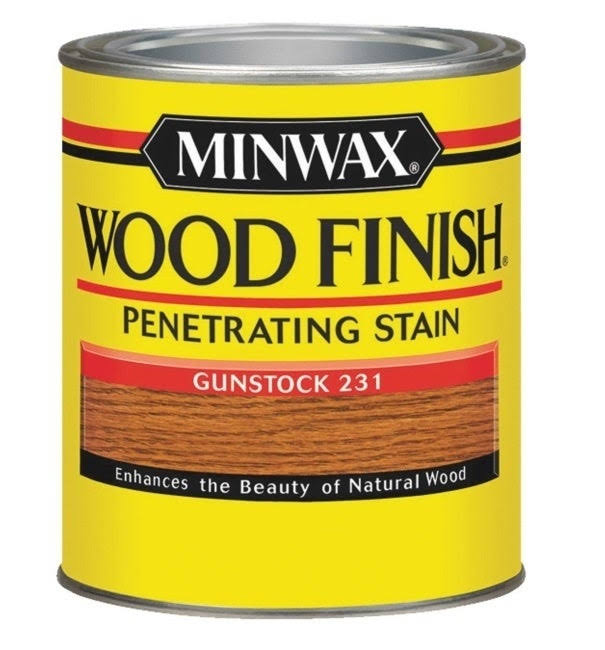 Minwax Wood Finish Half Pint Oil Wood Stain - Gunstock