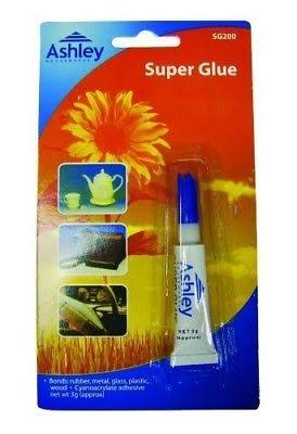 Ashley Super Glue Tube - 3g