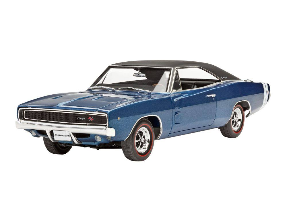 Revell 1968 Dodge Charger R/T Car Model Kit (1:25)