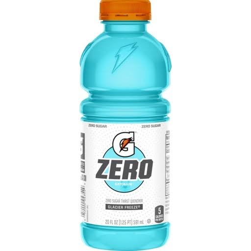 Gatorade Zero Glacier Freeze Zero Sugar Thirst Quencher - 20oz