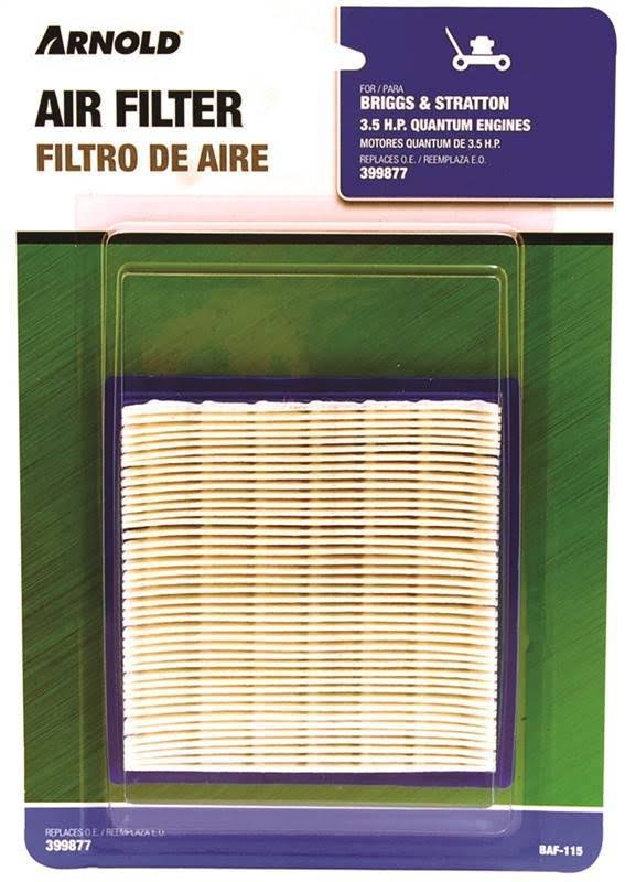 Arnold Baf-115 Briggs Stratton Engine Air Filter - 3.5HP