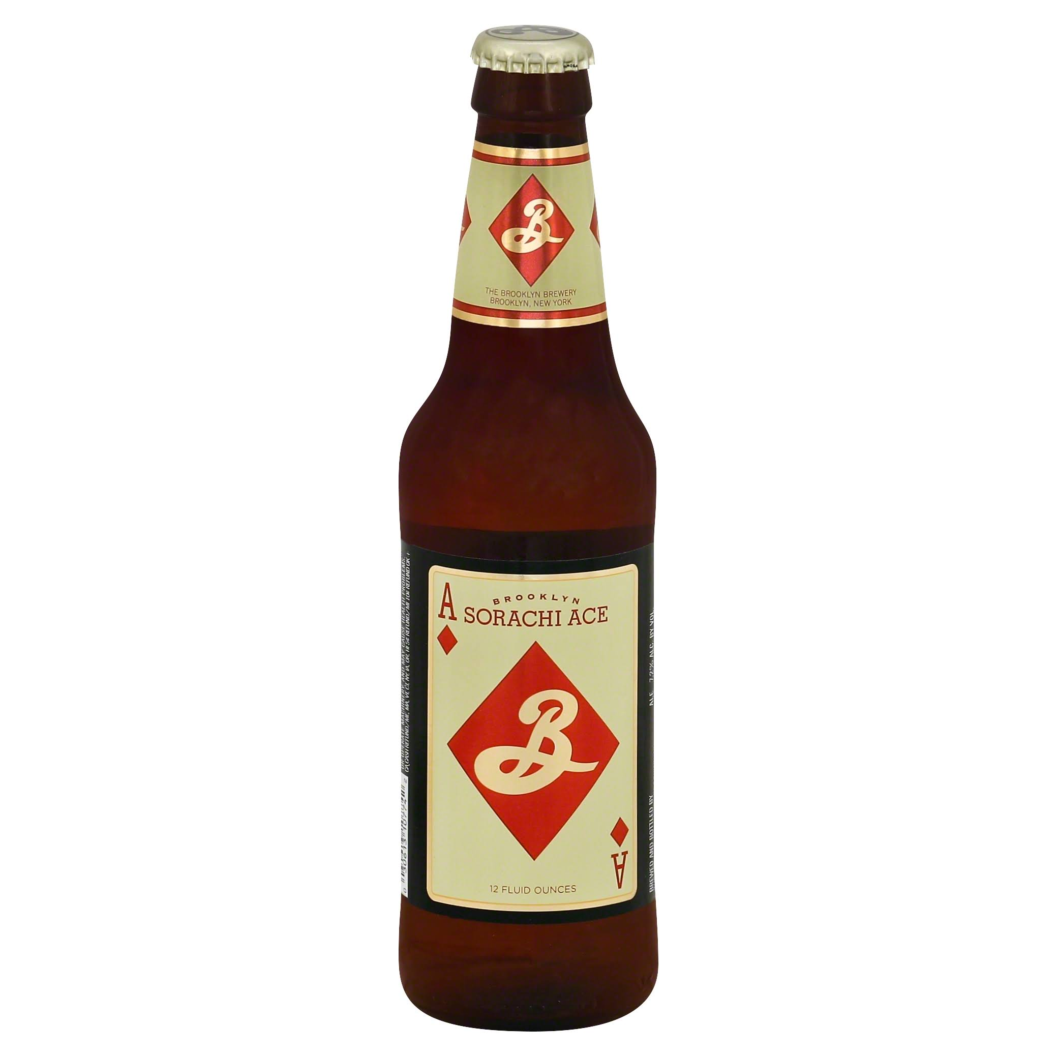 Brooklyn Brewery Ale, Saison, Sorachi Ace - 12 fl oz