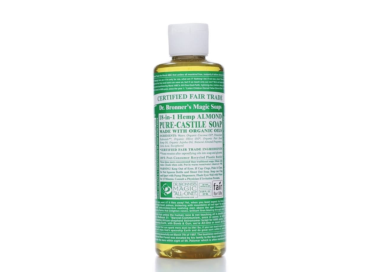 Dr Bronner Pure Castile Liquid Soap - Almond