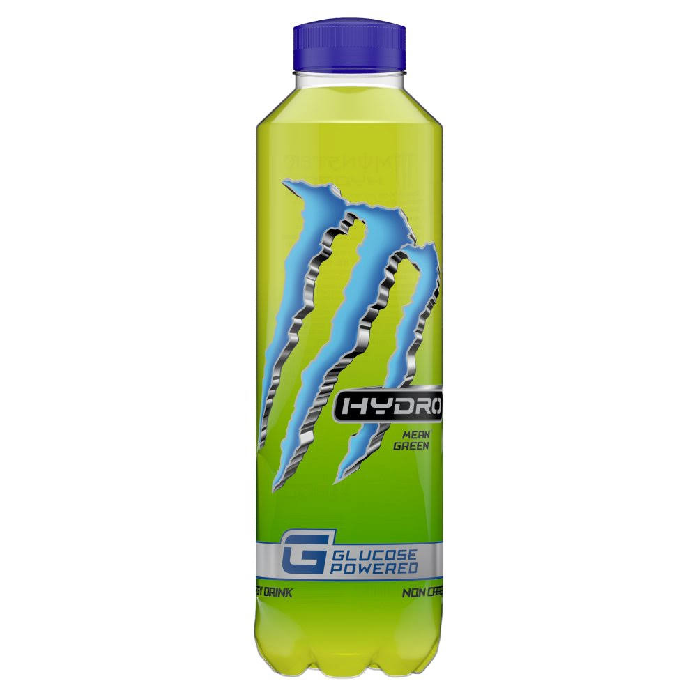Monster Energy Drink - Hydro Mean Green, 550ml