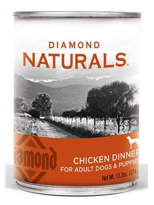 Diamond Naturals Chicken Dinner Dog Food, 13.2-oz.
