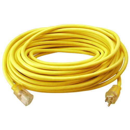 Master Electrician Vinyl Extension Cord - Yellow