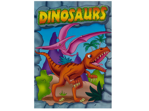 DDI 1278186 Dinosaurs Coloring and Activity Book