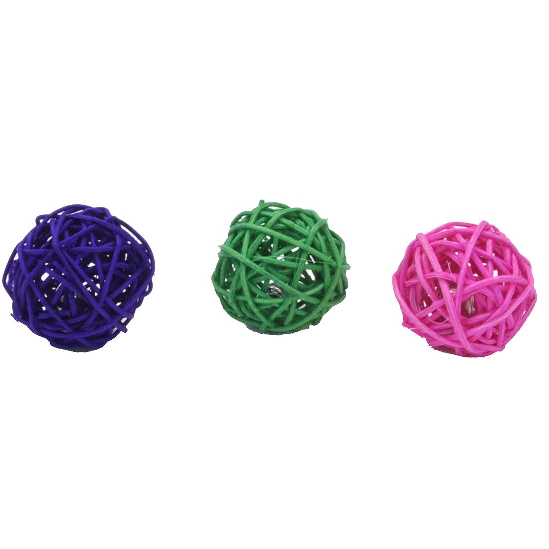 Coastal Pet Turbo Wicker Ball Cat Toy, Assorted