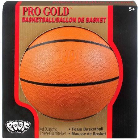 Slinky Pro Gold 7 Foam Basketball with Box - Brown
