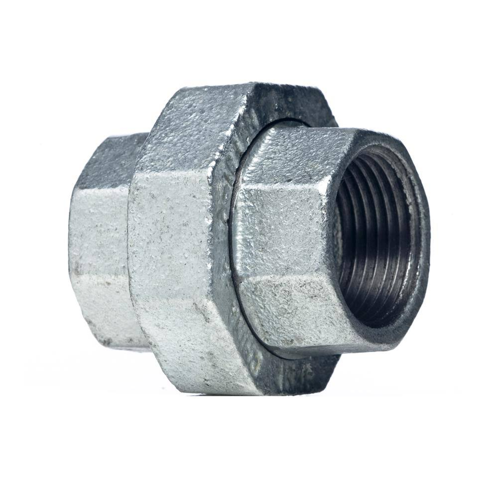 Mueller Global Galvanized Malleable Iron FPT x FPT Union - 1/2''