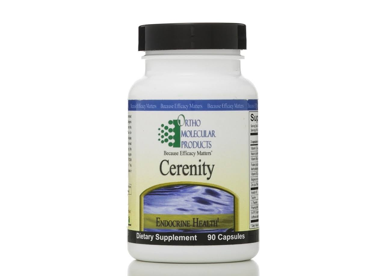 Ortho Molecular Products Cerenity Supplement - 90ct
