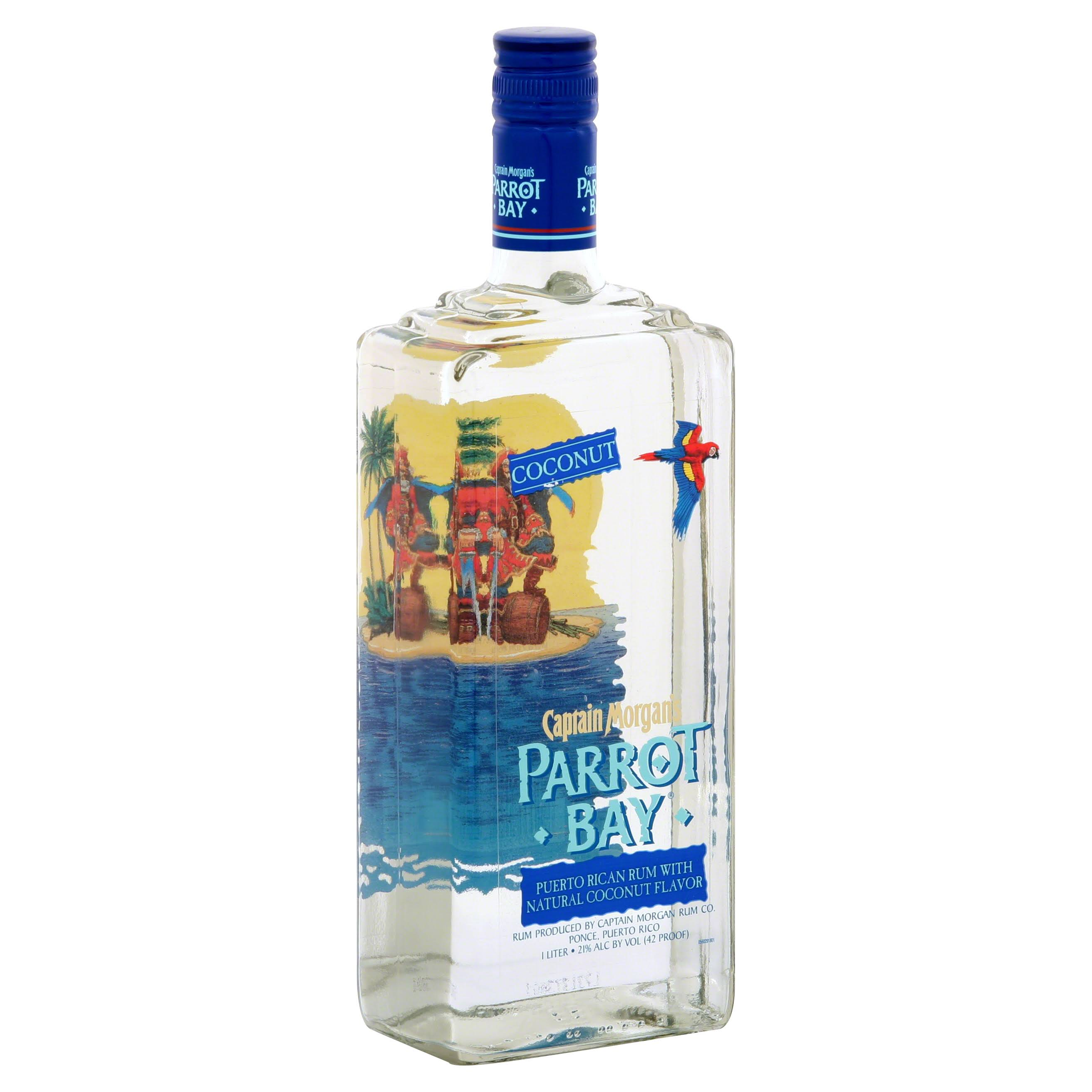 Captain Morgan's Parrot Bay Puerto Rican Rum - Coconut