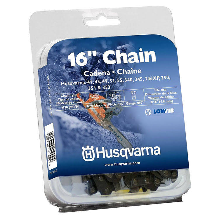 Husqvarna 531300437 Replacement Chain Saw Blade - 16""