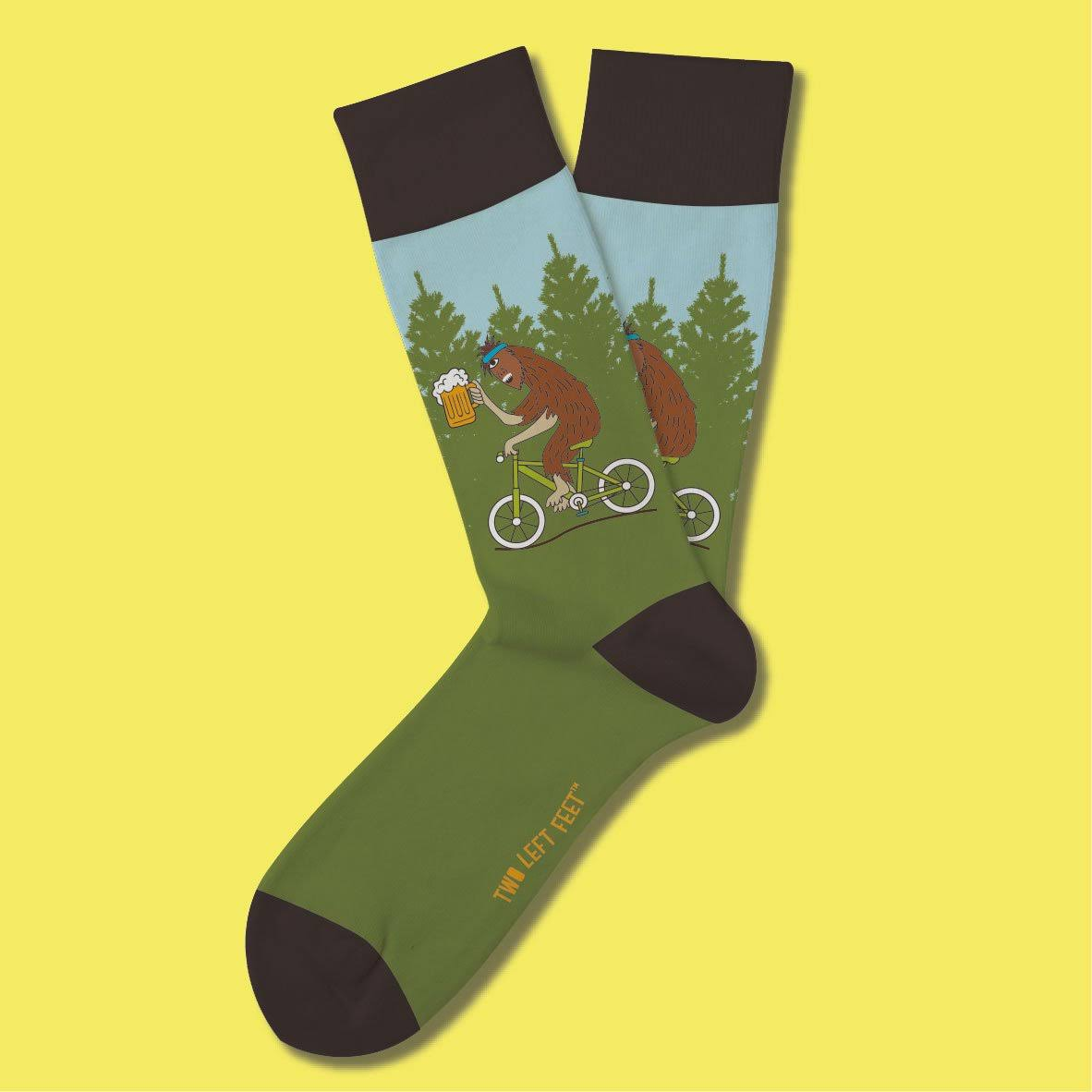 Two Left Feet Unisex Novelty Crew Sock