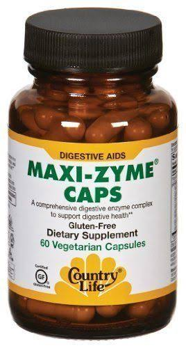 Country Life Maxizyme Dietary Supplement - 60ct