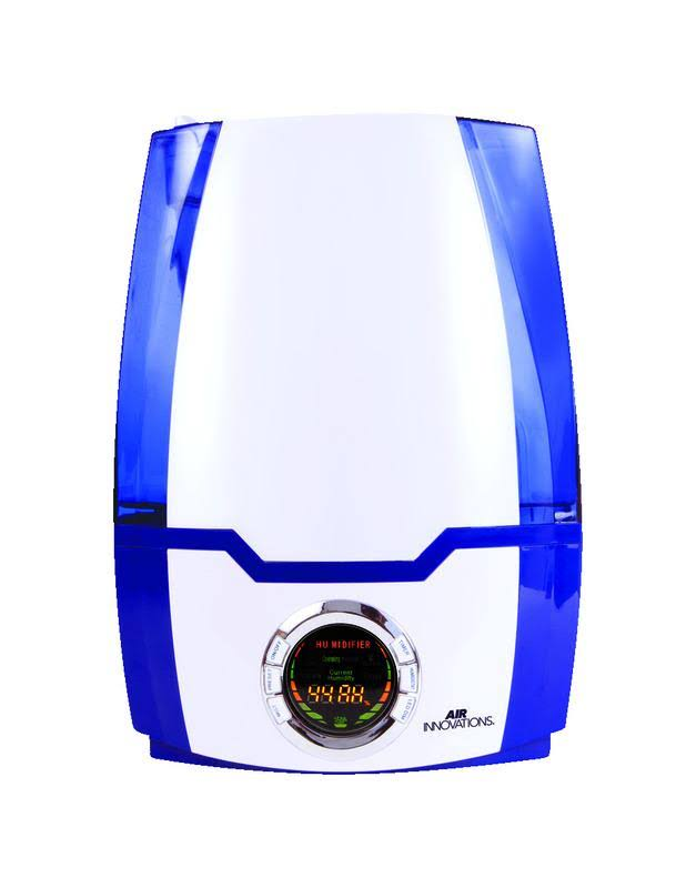 Air Innovations HUMID40-BLUE Great Innovations Digital Ultrasonic Humidifier, 1.37 Gallon