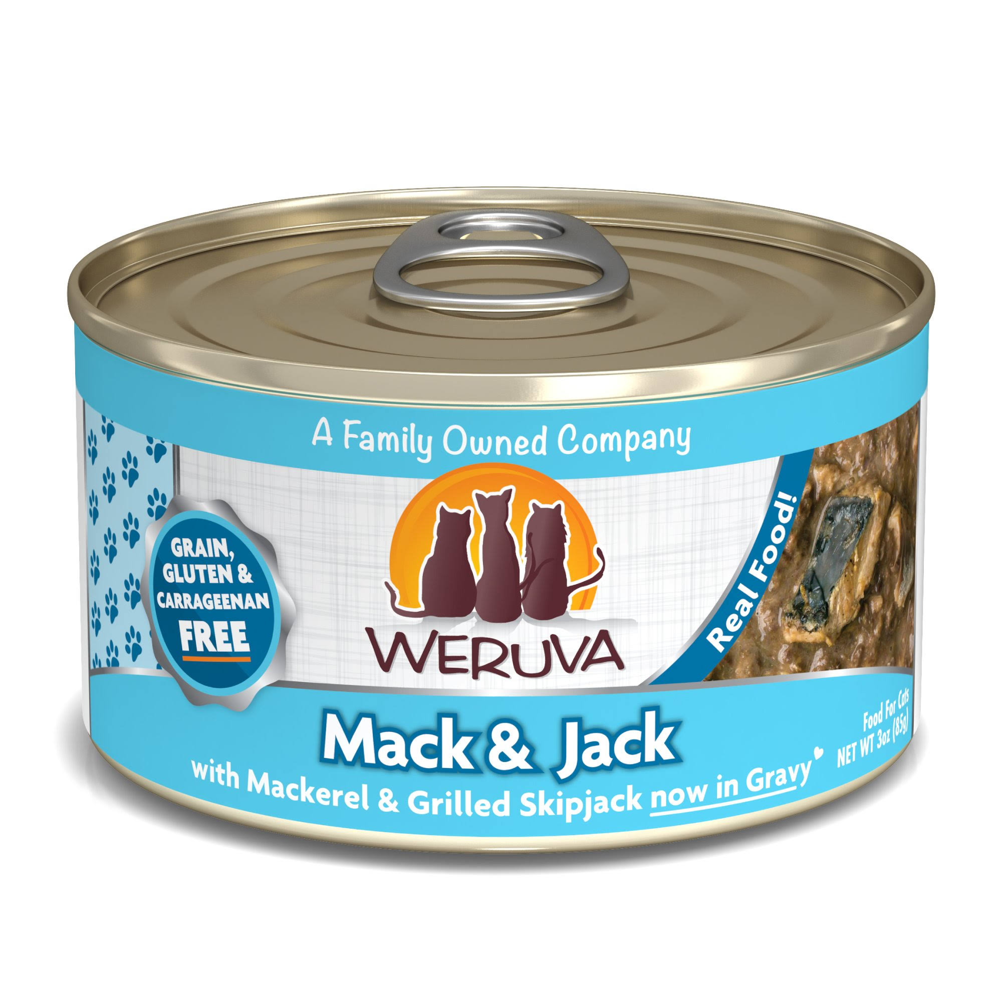 Weruva Canned Cat Food - Mack and Jack with Mackerel & Grilled Skipjack