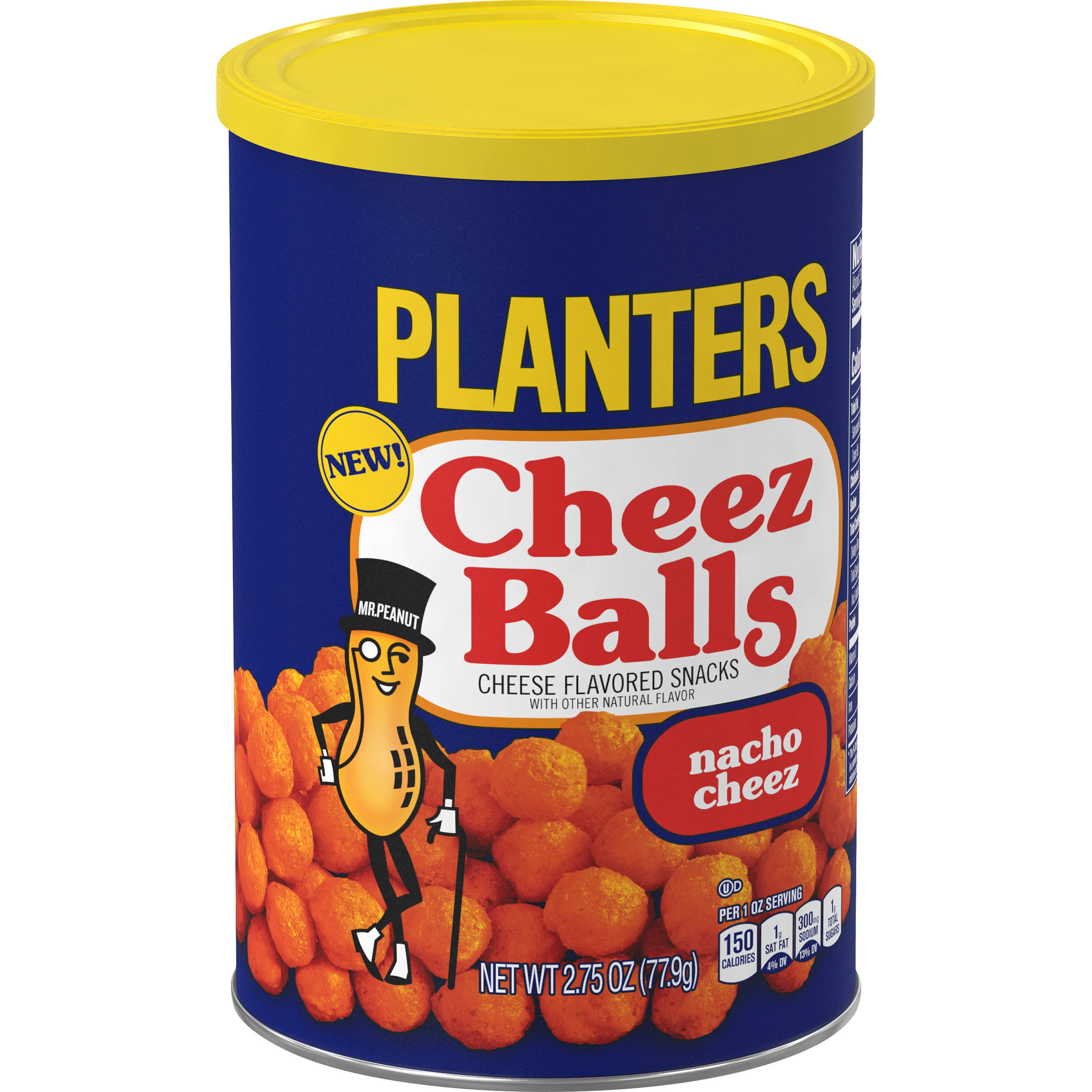 Planters Cheez Balls, Nacho Cheez - 2.75 oz