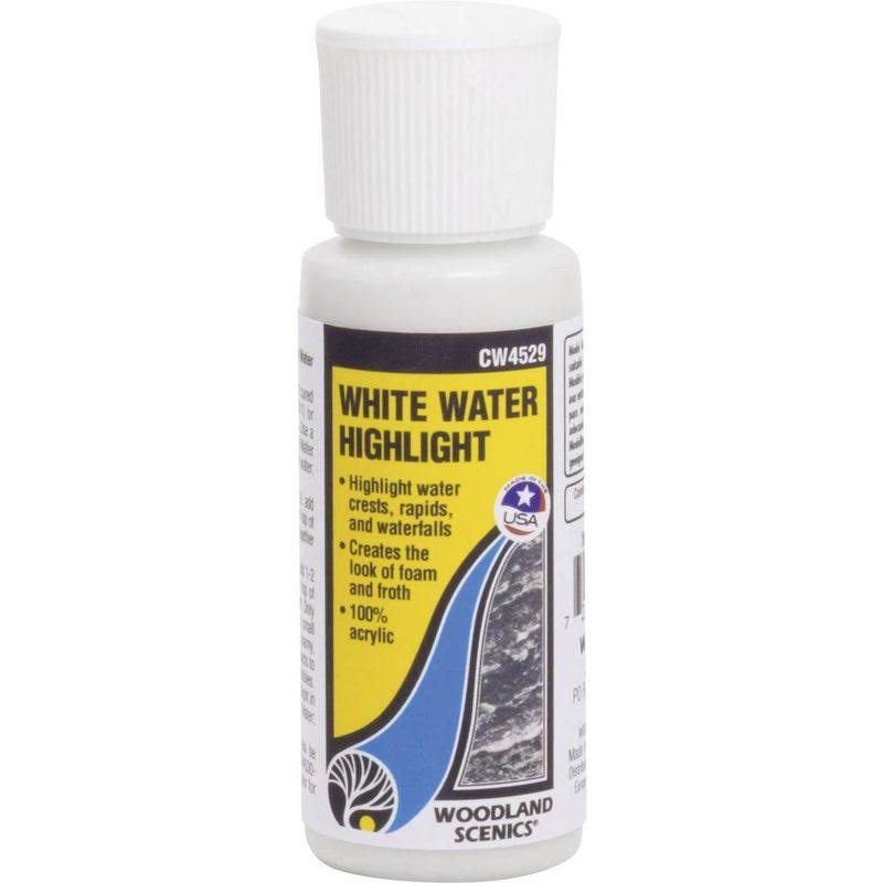 Woodland Scenics Cw4529 White Water Highlight - 2oz